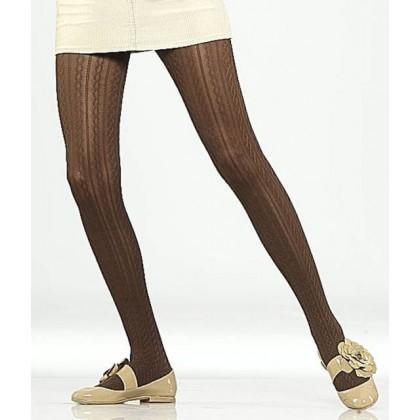 Vog Julia Desenli Külotlu Çorap