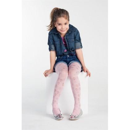 Bella Calze  Desenli Mikro Çocuk Külotlu Çorap
