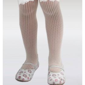 Dore Örümcek File Külotlu Çocuk Çorabı