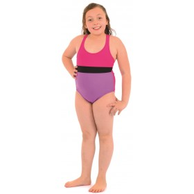 Azra Likralı Kız Garson Yüzücü Mayo